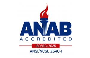 Compliance - ANAB Accredited Logo