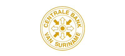 Logo of Central Bank Van Suriname
