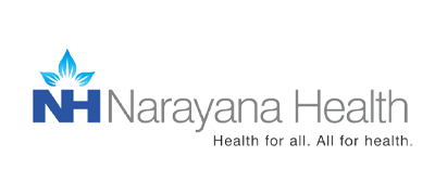 Logo of Narayana Health (NH)