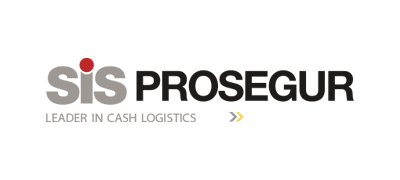 Logo of SiS Prosegur - Leader in Cash Logistics