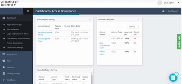 Access Governance Dashboard