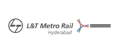 Logo of L&T Metro Rail Hyderabad