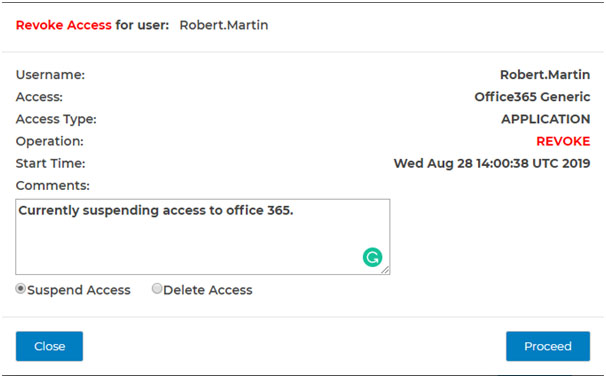 Automatically revoke user access for apps